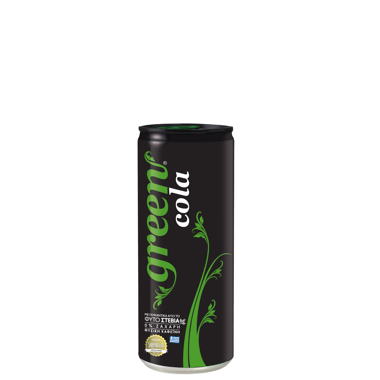 Green Cola - Κουτί - 330ml