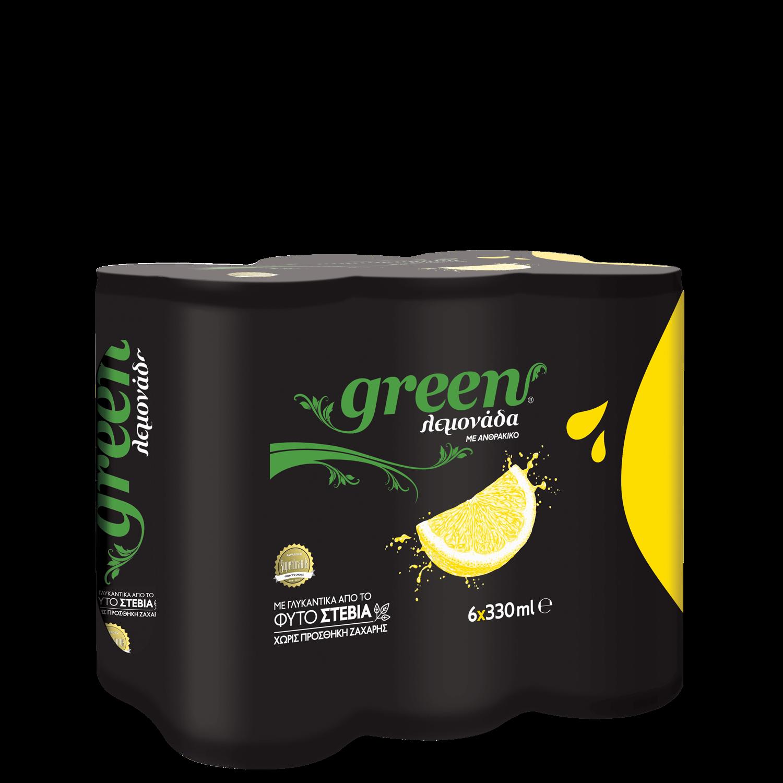 Green Lemon - Πολυσυσκευασία κουτί - 6x330ml