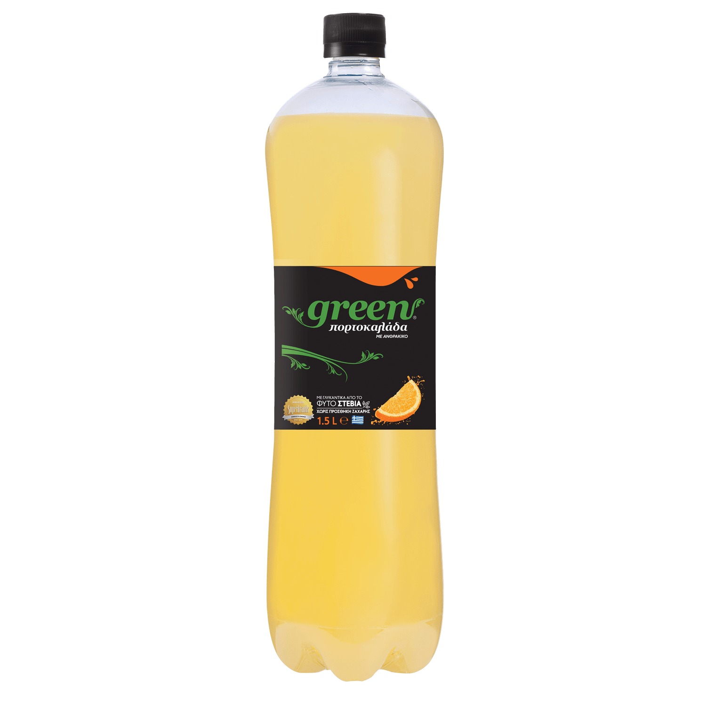 Green Orange - Φιάλη PET- 1,5lt