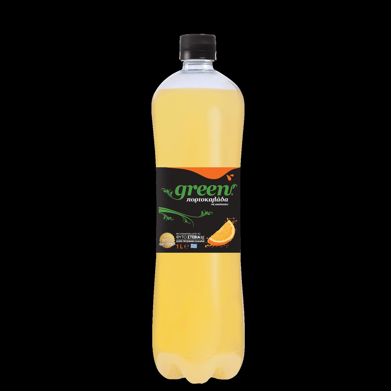 Green Orange - Φιάλη PET - 1lt