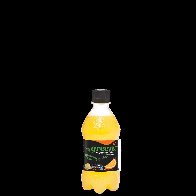 Green Orange - Φιάλη PET - 330ml