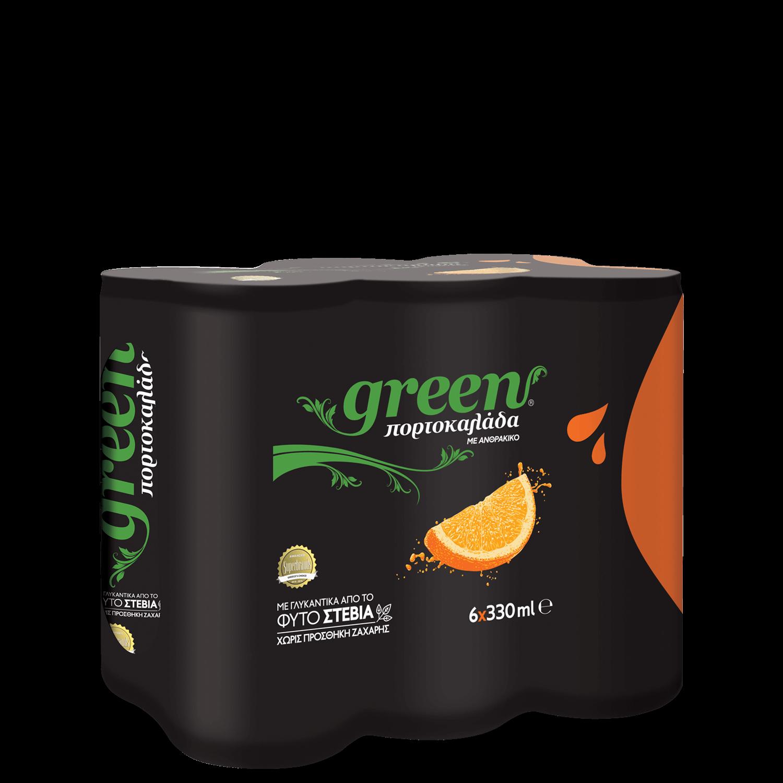 Green Orange - Πολυσυσκευασία κουτί- 6x330ml