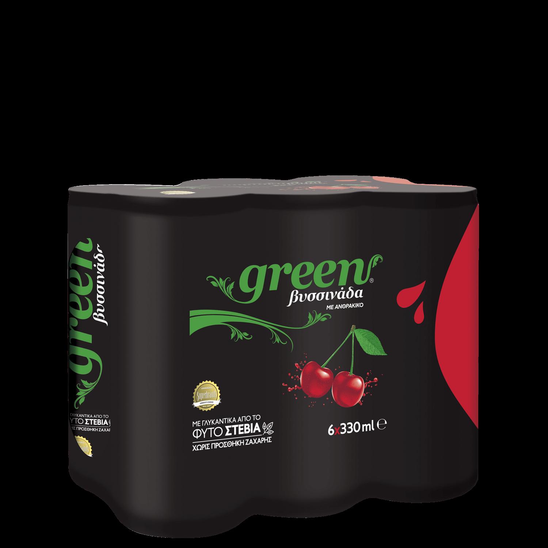 Green Cherry - Πολυσυσκευασία κουτί - 6x330ml