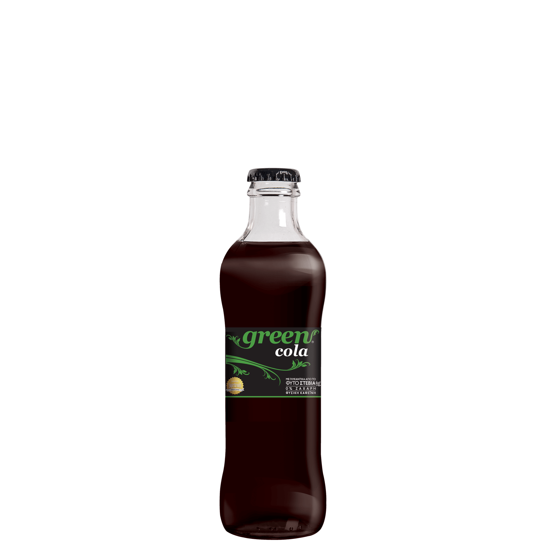 Green Cola - Γυάλινη φιάλη - 250ml