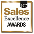 Sales excellence award - GOLD - 2017