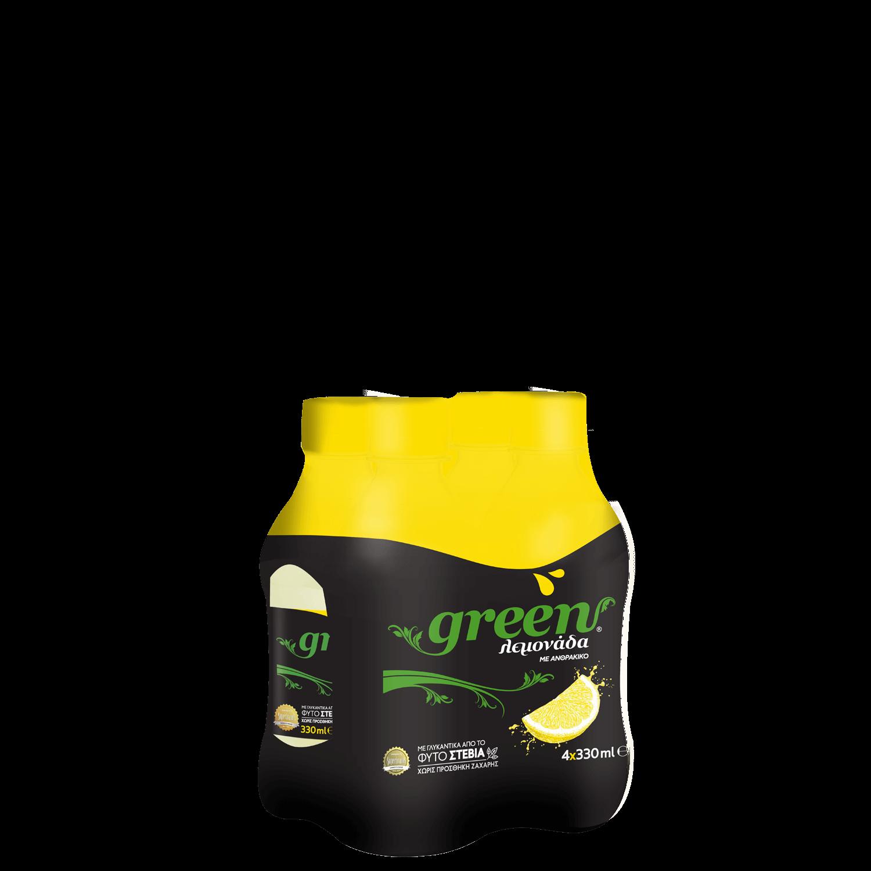 Green Lemon - Πολυσυσκευασία PET - 4x330ml