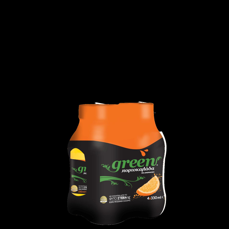 Green Orange - Πολυσυσκευασία PET - 4x330ml