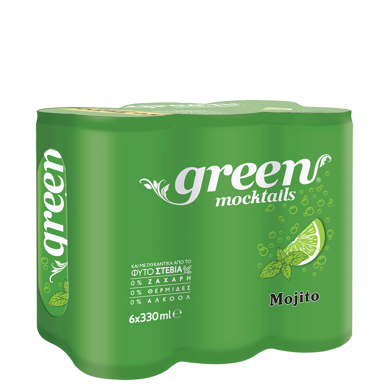 Green Mojito - Πολυσυσκευασία κουτί - 6x330ml